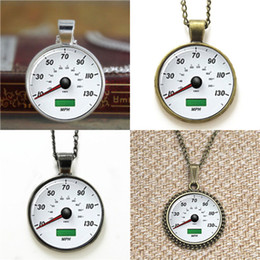 hipsters glasses 2019 - 10pcs Hipster Speedometer Necklace keyring bookmark cufflink earring bracelet discount hipsters glasses