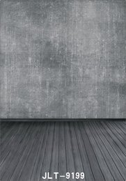 $enCountryForm.capitalKeyWord Canada - gray pure color wall wooden floor photography backdrops vinyl cloth backgrounds photocall for wedding children baby for photo studio props