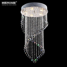 modern large size modern crystal chandelier lighting large lustres crystal light fixture lustres lamp for staircase foyer hallway md6874 cheap large modern - Discount Chandeliers