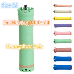 Heated Roller Hair Australia - 2017 hot sale salon use hair perm roller, rod, curler, DC material, water-proof, 36V, size 22