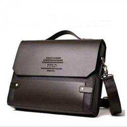 men office bags 2019 - Wholesale- 2017 New Formal Casual Office Men Bags Leather Shoulder Bag for Men Bags Business Briefcase cheap men office