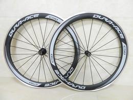 Cinza decalque rodas de Carbono de alumínio freio da bicicleta rodado de fibra de carbono roda de bicicleta de estrada clincher 50mm profundidade com hub Novatec A291 em Promoção