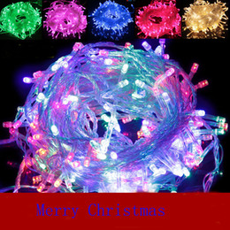 $enCountryForm.capitalKeyWord Canada - LED lights Christmas crazy sales 10M   PCS 100 LED light string decorative lights 220V for the party wedding led Christmas fla