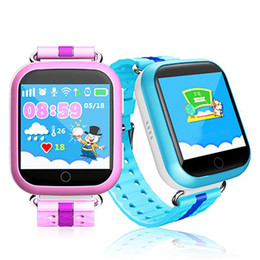 Touch waTch wifi online shopping - Q750 kid smart watch inch touch screen SOS Anti Lost Tracking Device SOS Call GPS Wifi Bluetooth Sim Card Child Watch DHL