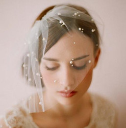 hot veils NZ - Wholesale hot sell Bridal wedding supplies Soft wedding short veil V002