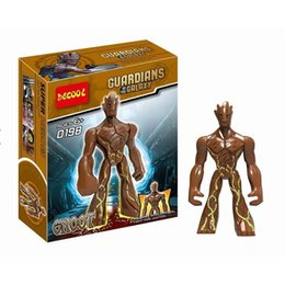 Guardians Galaxy buildinG blocks online shopping - 2018 new Guardians of the Galaxy Building Blocks cartoon Groot Bricks C2130
