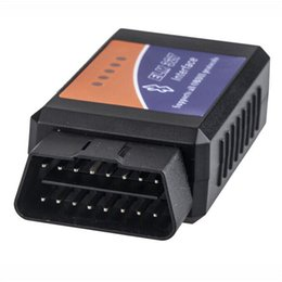 Chinese  Super Mini ELM327 Bluetooth V1.5 PIC18F25K80 OBD2 OBDII Code Reader ELM 327 Bluetooth For Android Diagnostic Scan Tool manufacturers