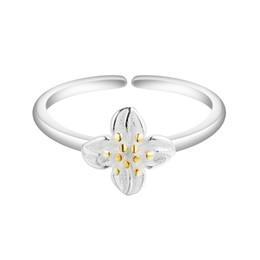 $enCountryForm.capitalKeyWord UK - 5pcs lot Top Quality Flower 925 Sterling Silver Women Finger Ring Lady Charming Love Bridal Engagement Ring Romantic Female
