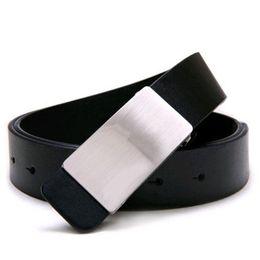 $enCountryForm.capitalKeyWord Canada - Wholesale- NEW Mens Adjustable Faux Leather Alloy Buckle Belt Black