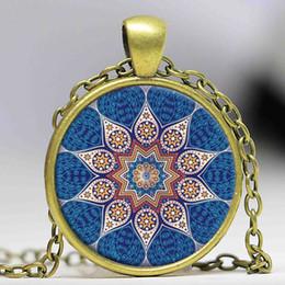 $enCountryForm.capitalKeyWord NZ - Dome cabochon pendant fashion jewelry lotus flower mandala henna enamel necklace nacklace yoga om symbol Zen Buddhism N36