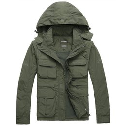 $enCountryForm.capitalKeyWord Canada - Men's Brand AFS JEEP Outdoor Jacket Men Autumn Military trench coat autumn thick cotton outerwear chaquetas jaqueta 2pcs Free DHL Fedex