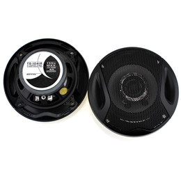 speaker woofer Canada - 1 pair 4 Inch 10.2cm Auto Car Coaxial Loud Speaker Tweeter Mid Woofer Loudspeaker Dual-Cone Universal AUP_40P