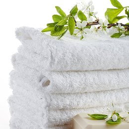 $enCountryForm.capitalKeyWord UK - 2017 100% Cotton Hotel Guest House Bath Towels White Color Towel Soft Bathroom Supplies Unisex Usage Natural Safe Towels 70*140Cm 400G