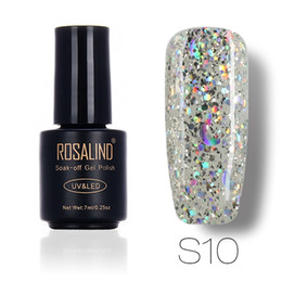 Star glitter nail polish online star glitter nail polish for sale wholesale rosalind 3d dimond glitter uv nail gel nail art manicure starmoon nail gel lacquer soak off base top gel polish makeup 7ml prinsesfo Gallery