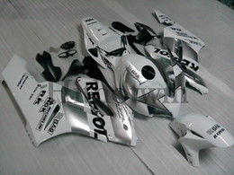 Honda Motorcycle Aftermarket NZ - Aftermarket Motorcycle silver ABS Fairing For honda CBR1000RR 2004-2005 CBR1000 RR 04 05