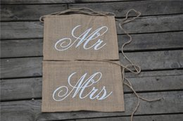 $enCountryForm.capitalKeyWord NZ - 1Set Garland Banner Mr Mrs Bride Groom Photo Props Chair Signs Photo Booth Wedding Party Decoration