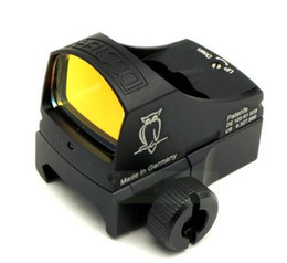 China Automatic illuminate Tactical Reflex Red Dot Sight For Airsoft Hunting Rifle Scope with 20mm Mount and Mount suppliers