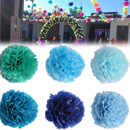 Wedding car decoration paper flower australia new featured 10pcs 8inch artificial paper flowers kissing ball wedding car birthday party baby shower diy decoration tissue paper pom poms junglespirit Choice Image