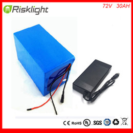 $enCountryForm.capitalKeyWord Canada - Free customs taxes and shipping 72V 30AH Electric bike Lithium Ion Battery with Charger and 72V 3000W Electric Bicycle battery
