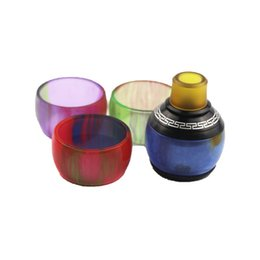 vape pen cap Australia - Replacement Resin Tube Caps for Smok TFV12 TFV8 Baby Big Baby Tank Cleito 120 Vape pen 22 iJust 2 Dragon Ball RDTA CP RTA Drip Tip Glass