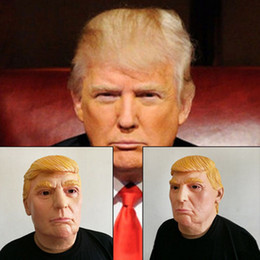 usa president candidate mr trump masks halloween mask latex face mask billionaire presidential donald trump latex masks - President Halloween Mask