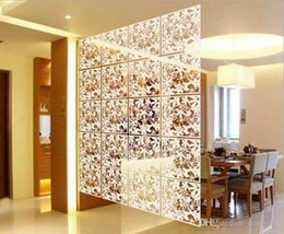 40cmx40cm Biombo Curtain Wall Panels Hanging Screen Mobile Living Room  Entrance Minimalist Fashion Chinese Folding Screen 8Pcs Lot American Living  Curtains ...