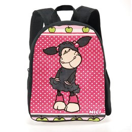 kids books characters Australia - 2017 New Nici Printed School Bag For Boys ,Cute Nici Baby Bag For School ,Girl School Bags Kids Book Bags For Mochilas Infantis