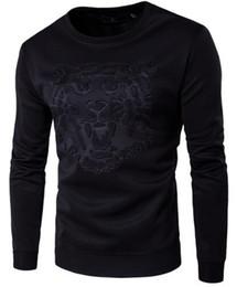 Mens cotton crew neck sweaters online shopping - 2018 personal brand sportswear sportswear jacket sportswear Hoody Mens winter men s sweater