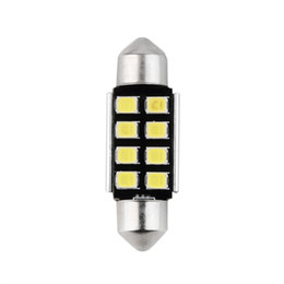 Chinese  Festoon 8 SMD 36MM Car LED Bulbs Interior Dome Festoon Lights auto roof lamp White 12V manufacturers