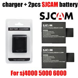 Hd dive mask camera online shopping - NEW Original SJCAM SJ6000 SJ7000 camera battery charger for DV SJ4000 SJ HD P Sports camera