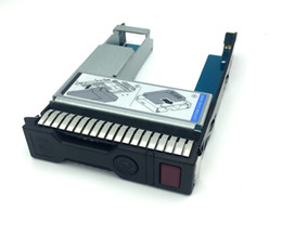 "hp hard drives NZ - 651314-001+9W8C4 2.5"" SSD TO 3.5"" SATA Converter Hard Drive Tray Caddy For HP G8 Gen9 server"