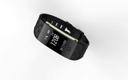 Vs Monitor Canada - Bluetooth Smart Band S2 Wristband Heart Rate Monitor IP67 Waterproof Smartband Activity Tracker Bracelet For Android IOS VS Free shipping