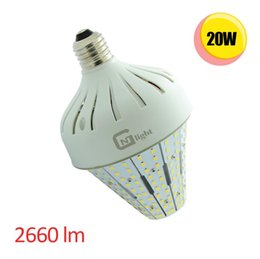 Wholesale 20W LED Post Light Daylight K led garden lamps from China professional supplier energy saving post top bulb AC100 V