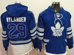$enCountryForm.capitalKeyWord Canada - New Maple Leafs Hoodies Jerseys #29 Nylander Hockey Hoody Jerseys Blue Color With Pockets Size S-XXXL All Teams Mix Order All Jerseys