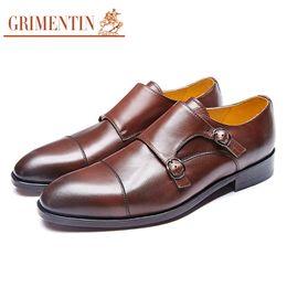 $enCountryForm.capitalKeyWord NZ - GRIMENTIN Hot sale brand custom formal mens dress shoes genuine leather black brown oxford shoes Italian handmade men shoes size:38-46