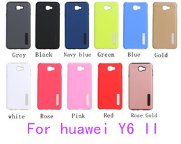817069865a73 For huawei Y6 II Y5 II Y3 II P9 LITE P8 Lite Hybrid Dual Layer Armor case  Protective Back Case Shockproof Cover