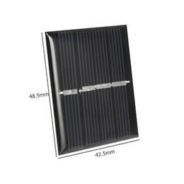 $enCountryForm.capitalKeyWord Canada - Mini 0.36W 2V Solar Cell Module Polycrystalline Solar Panel DIY Solar Toy Panel System Epoxy Education 42.5*48.5MM 100pcs lot Free Shipping