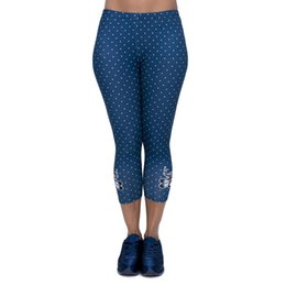 $enCountryForm.capitalKeyWord UK - Lady Capri Leggings Freeride Deer Dot 3D Graphic Print Women Soft Seven Socks Girl Casual Cropped Trousers Runner Sport Capri Pants (J45784)