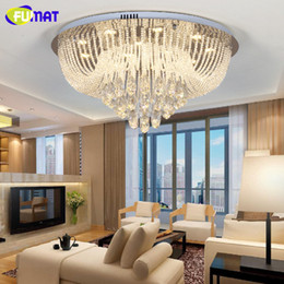 FUMAT Modern Chandelier Ceiling Indoor Light String K9 Crystal Lightings Living  Room Bedroom Metal Lustre Cristal Light Fixtures Part 75