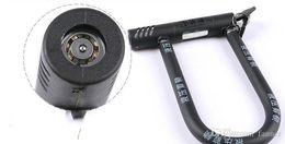 Bicycle u locks online shopping - bicycle U shaped lock mountain bike steel anti theft lock black g bike lock