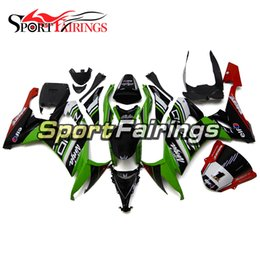 cowl fairing Australia - Full Fairings For Kawasaki ZX10R 08 09 10 2008 - 2010 Green White Red Injection ABS Plastic Motorbike Cowls Body Panels New Hulls