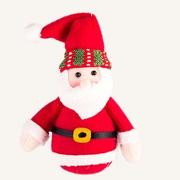 Chinese  Hot Sale Santa Claus Snow Man Doll Christmas Toys Decorations Cute Elk Gadgets Ornaments Doll Christmas Gift Drop Shipping Factory Price manufacturers