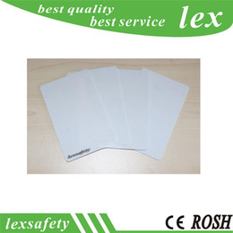Best 100 pcs lot F08 smart Blank card  Thin pvc Cards RFID 13.56MHz IC card   ISO14443A 1K Smart Card on Sale