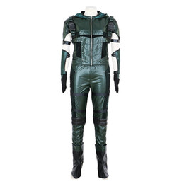 Malidaike Freccia Verde Oliver Queen Stagione 4 Cosplay Unisex Custome-made