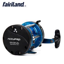 $enCountryForm.capitalKeyWord Canada - 5BB 3.8:1 Trolling Boat Fishing Reel LEFT HAND 508g 17.9oz Drum Trolling Reel 2 Color Baitcasting Roller Cast Drum Wheel