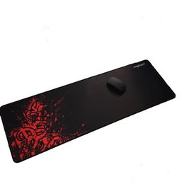 goliathus razer speed mouse pad UK - Wholesale- 900*300MM XL Large Red Rubber Razer Goliathus Mantis Speed Gaming Mouse Pad Mats