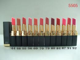 Discount makeup factory lipstick - Factory Direct DHL Free Shipping New Makeup Lips Rough Shine Lipstick!3g