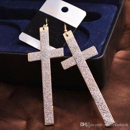 $enCountryForm.capitalKeyWord Canada - Fashion Jewelry Long Dangle Earrings WomenTessel Crosses Earring Gold Filled Long Tassel Dangle Earrings Exaggeration Party Wearing