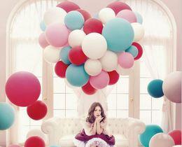 $enCountryForm.capitalKeyWord Canada - 36 Inch Super Big Large Wedding Decoration Birthday Party Ballons Thickening Multicolor Latex Giant Huge Balloon A1706302