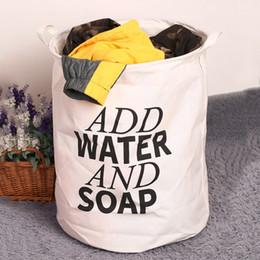 $enCountryForm.capitalKeyWord Canada - 50*40cm Unique Durable Foldable Cotton Linen Washing Clothes Laundry Basket Bag Environmental Hamper Storage Clothes 48*42 Cm
